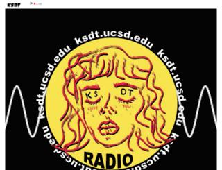 ksdtradio.ucsd.edu screenshot