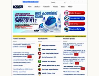 kseb.in screenshot
