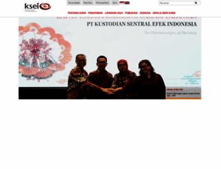 ksei.co.id screenshot