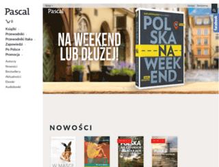 ksiegarnia.pascal.pl screenshot