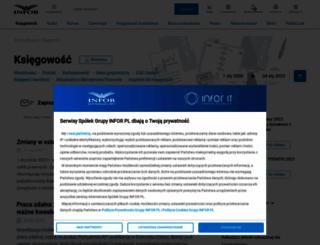 ksiegowosc.infor.pl screenshot