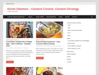 ksolomon.com screenshot