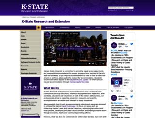 ksre.ksu.edu screenshot