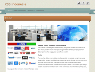 kssindonesia.com screenshot