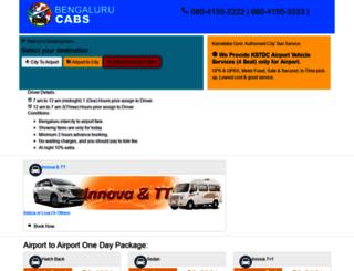 kstdcairporttaxi.com screenshot