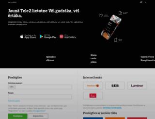 kt.tele2.lv screenshot