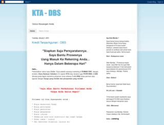 kta-dbs.blogspot.com screenshot