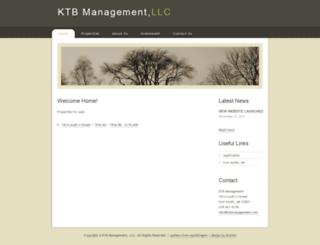 ktbmanagement.com screenshot