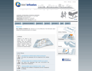ktel-lefkadas.gr screenshot
