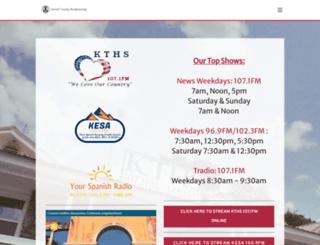 kthsradio.com screenshot