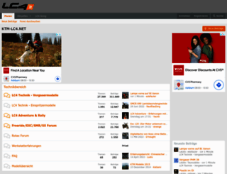 ktm-lc4.net screenshot