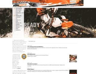 ktmshop.se screenshot