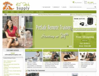 ktpetsupply.com screenshot