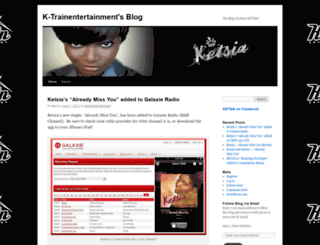 ktrainentertainment.wordpress.com screenshot