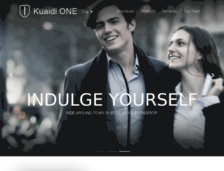 kuaidigroup.com screenshot