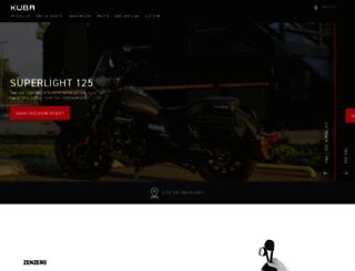 kubamotor.com screenshot