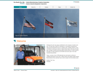 kubota-kma.com screenshot