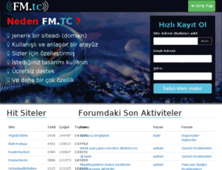 kubrafm.ff.tl screenshot