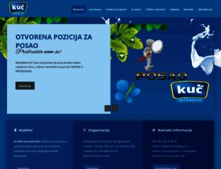 kuccompany.co.rs screenshot