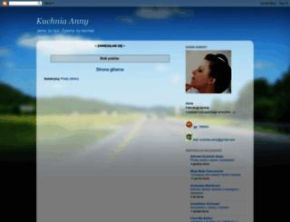 kuchnia-anny.blogspot.com screenshot