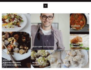 kuchniakocha.pl screenshot