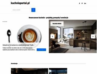 kuchnieportal.pl screenshot