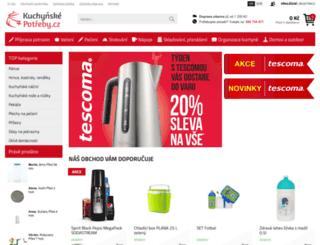 kuchynskepotreby.cz screenshot
