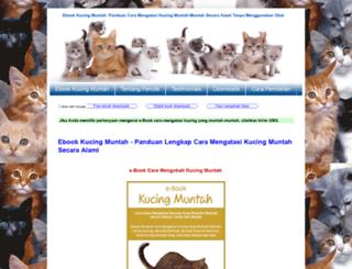 kucingmuntah.com screenshot