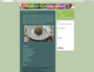 kucukevinmutfagi-pilavlar.blogspot.com screenshot