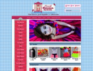 kucukhanimingardrobu.com.tr screenshot