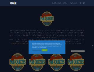 kudos-pub-quizzes.co.uk screenshot