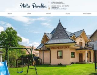 kudowa-perelka.pl screenshot