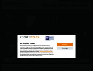 kuechen-atlas.de screenshot