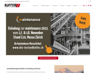 kuefferag.ch screenshot