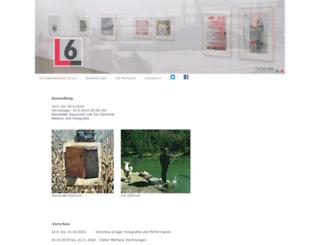 kuenstlerwerkstatt-l6.de screenshot