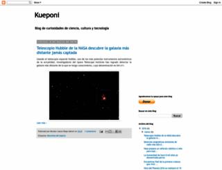 kueponi.blogspot.mx screenshot