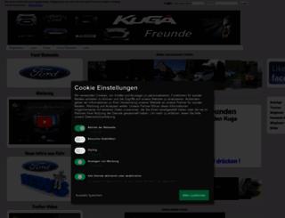 kuga-freunde.com screenshot