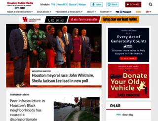 kuhf.org screenshot