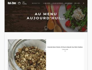 kui-zine.com screenshot