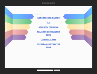kuiraq.com screenshot