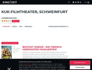 kuk-kino-und-kneipe-schweinfurt.kino-zeit.de screenshot