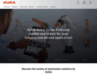 kuka.com screenshot