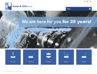 kukal-uhlir.cz screenshot
