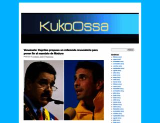 kukoossa.wordpress.com screenshot