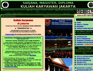 kuliah-karyawan-jakarta.com screenshot