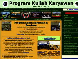 kuliahkaryawan.id screenshot