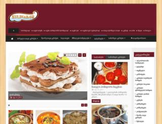 kulinar.ge screenshot
