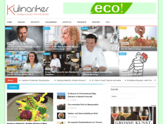 kulinariker-magazin.de screenshot