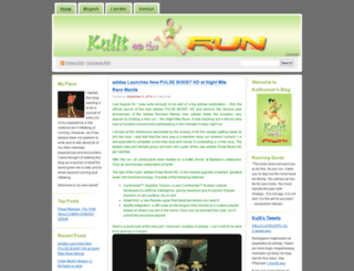 kulitrunner.wordpress.com screenshot