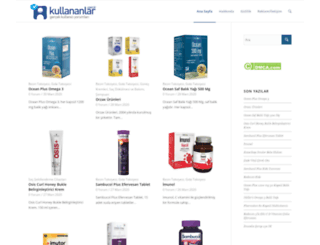 kullananlar.com.tr screenshot